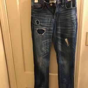 Madewell Slim Boy Jean (Size 25)